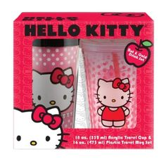Vandor 18188 Hello Kitty 16 oz Plastic Travel Mug and 18 oz Acrylic Travel Cup with Lid and Straw set, Pink Vandor http://www.amazon.com/dp/B00IM9PTXE/ref=cm_sw_r_pi_dp_2FYmvb0XF5B94