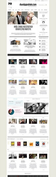 Dwutygodnik - ESTRATURA Pawel Rebisz Wed design & UI portfolio