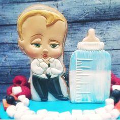 Топперы в торт по мотивам мультика Босс Молокосос. Симпатяга   За фото спасибо заказчикам.   Все мультяшки собираются здесь #мульт_vmedu  #боссмолокосос  Детские пряники здесь #дети_vmedu