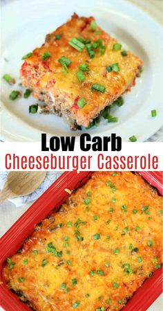 Try this amazing low crab cheeseburger casserole.  This recipe is perfect for those days when you're craving a cheeseburger but don't want to cheat on your low carb or keto diet.  This casserole tastes great and I promise you won't miss the bun!   #eatingonadime #dinnerrecipes #dinner #keto #ketogenic #ketorecipes #lowcarbrecipes #casseroles #healthyrecipes #dinnerrecipes