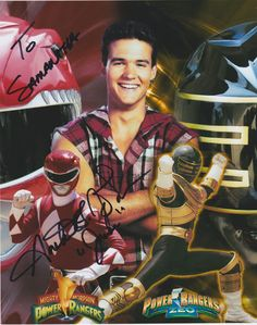 The Original Red Ranger and Power Rangers: Zeo, Gold Zeo Ranger. Power Rangers Poster, Power Rangers Comic, Power Rangers 2017, Power Rangers Series, Go Go Power Rangers, Powe Rangers, Jason Lee Scott, Original Power Rangers, Forever Red