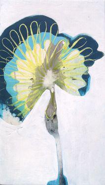 "Saatchi Online Artist Monica Perez Vega; Painting, ""Dandelion"" #art"