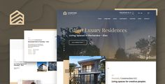 Hompark | Real Estate & Luxury Homes Joomla Template ⠀ Hompark is a high quality luxury real estate template for construction companies. If you want to present your property in best way soo with Homepark you can create your own website very easily and ... ⠀ # #apartment #cmsthemes #estate #flat #joomla #location #map #meter #mortage #real #realtor #rent #saihoai #sale #square #themeforest #company #corporate #responsive #construction Template Wordpress, Tema Wordpress, Joomla Templates, Wordpress Theme, Menu Templates, Luxury Website, Animation Portfolio, Real Estate Templates, Home Themes