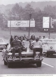 1969 on the way to Woodstock