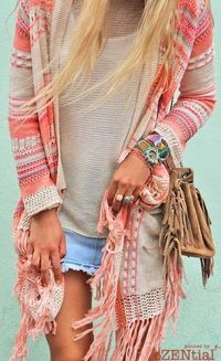 bohemian boho style hippy gypsy fashion indie folk free people hippie dress peace rustic boho goodvibes ethnic free spirit vintage chic crochet lace jewelry ☮k☮ Hippie Style, Mode Hippie, Gypsy Style, Boho Gypsy, Hippie Boho, Bohemian Style, Beach Hippie, Boho Beach Style, Boho Outfits
