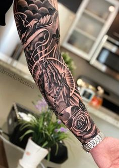 Half Sleeve Tattoos Forearm, Half Sleeve Tattoos For Guys, Forarm Tattoos, Full Arm Tattoos, Hand Tattoos For Guys, Forearm Sleeve Tattoos, Dope Tattoos, Best Sleeve Tattoos, Tattoo Sleeve Designs