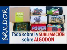 Todo sobre la SUBLIMACIÓN sobre ALGODÓN - YouTube Screen Printing Equipment, Youtube, Decoupage, Cricut, Father, Baseball Cards, Day, Prints, Cotton