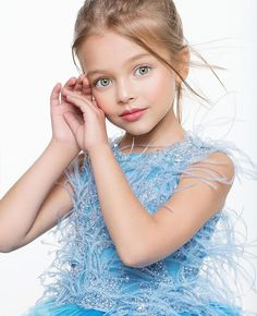 Anna Pavaga was born on November 2009 in Saint Petersburg, Russia. Beautiful Little Girls, Cute Little Girls, Beautiful Children, Beautiful Babies, Cute Kids, Young Models, Child Models, Anna Pavaga, Kristina Pimenova