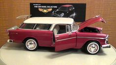 1955 Chevrolet Nomad 1:18 diecast review