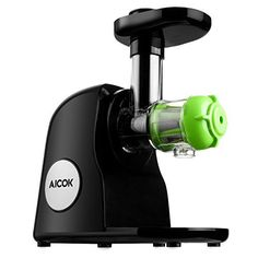 The Aicok Slow Juicer is the right choice for the health-conscious individuals who want greater variety in their daily juicing routine.