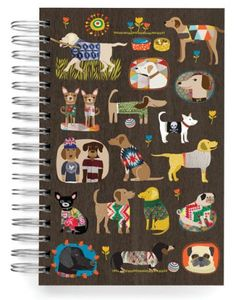 JOURNALS :: JUMBO JOURNALS :: Dog sweaters 2 Jumbo Journal - Ecojot - eco savvy paper products