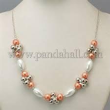 Resultado de imagen para collares con muranos y perlas
