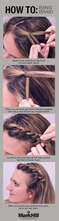 how to bang braid.