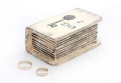 Ring Bearer Box, Wedding box,