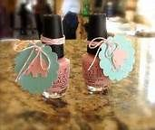 Elephant themed Baby Shower Party Favors - nailpolish and attach tag Elephant Baby Shower Favors, Baby Shower Souvenirs, Elephant Party, Baby Shower Prizes, Baby Shower Party Favors, Elephant Baby Showers, Kid Party Favors, Baby Shower Games, Pink Elephant