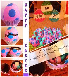 Baby Gender Reveal for Easter!!