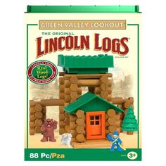 Lincoln Logs Green Valley Lookout