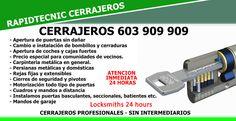 RapidTecnic Valencia 603 909 909: Cerrajeros de Monserrat 603 909 909