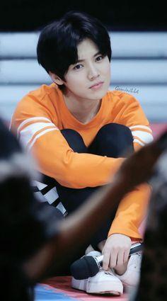 geminilu I love manly!Luhan, but this side is too cute! Kris Wu, Pretty Men, Beautiful Men, Super Junior, Baby Lulu, Kim Minseok, Exo Korean, Big Bang Top, Gu Family Books