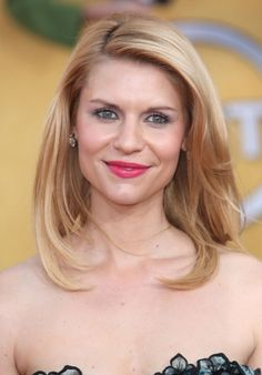 Claire Danes blonde, sexy hairstyle