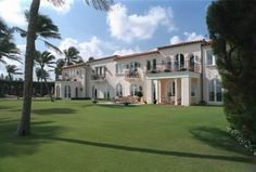 1933-1963  1096 N. Ocean Blvd.  Palm Beach, Florida  (Parent's home, used by JFK and family - sold by Kennedys in 1995)
