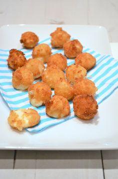 Gefrituurde mozzarella balletjes - Uit Pauline's Keuken