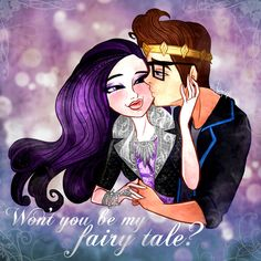 your fairy tale! - Raven and Dexter by FreshPlinfa-Ivy on DeviantArt