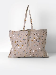 Tote Bag - Terrazzo - Rose - XL What is going on here?  Ferm