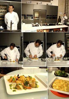 Apresentação do chef Carlos Martins do restaurante do Hotel Aviz [2012]