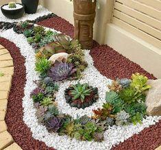 20 Ideas for Creating Amazing Garden Succulent Landscapes #succulentlandscape #succulentgarden
