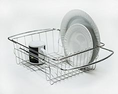 Amazon.com: HUJI Adjustable Stainless Steel Over the Sink Dish Drainer Kitchen Rack (1, Over the Sink Dish Drainer): Home & Kitchen