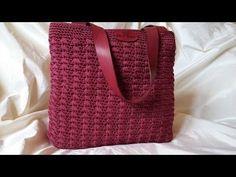 Tutorial Bacco Bag - Crochet- Punto Bacco - YouTube