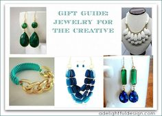 Gift guide: jewelry for the creative