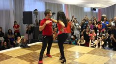 El Tiguere and Julianna (Island Touch) Dominican Bachata Workshop - Cape...