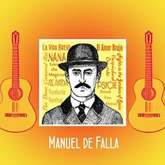 Manuel de Falla, 1876 - 1946, is one of Spain's most important composers.