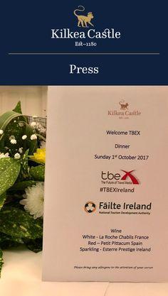 Kilkea Castle in the Media: Social Media Influencers Visiting Ireland.