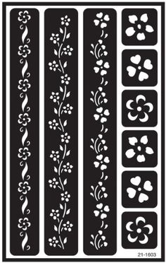 Armour Etch Over N Over Stencil, Floral Borders Armour http://www.amazon.com/dp/B001689VYG/ref=cm_sw_r_pi_dp_2j3uvb06EPJ9S