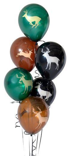6 PC Buck Deer Latex Balloons/ Deer Hunting Birthday Balloons/ Deer Latex Balloons/ Oh Deer/ Buck Balloons Camo Birthday Party, Birthday Balloons, 1st Birthday Parties, Boy Birthday, Birthday Ideas, Retirement Parties, Deer Hunting Party, Deer Hunting Birthday, Hunting Party Decorations