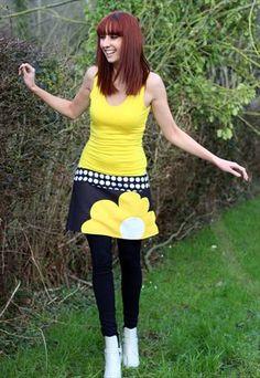 Dress BIG FLOWER by Dorothee Ossart