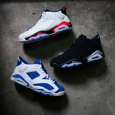 Which is your favorite among these three Air Jordan 6 Low ? All are available at www.kicks-crew.com https://www.kicks-crew.com/product/59/air-jordan-6/