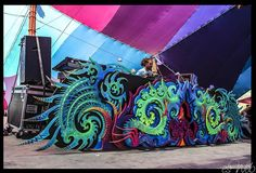 creative art festival booth - Google Search