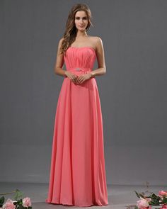 Salmon Bridesmaid Dresses - Ocodea.com