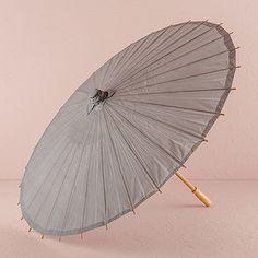 Paper Parasol with Bamboo Boning