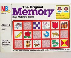 I remember playing with these exact Memory cards! 1980s Childhood, My Childhood Memories, Sweet Memories, Childhood Games, Family Memories, Retro Vintage, Vintage Toys, Vintage Games, Karate Kid