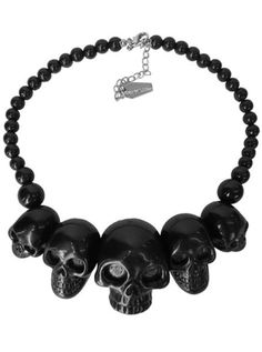 Buy Skull Collection Necklace (More Options) by Kreepsville 666 at InkedShop.com. We offer coupon codes, deals, and discounts every day!