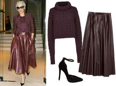TREND: URBAN NOMAD The Urban Nomad has a strength that's reflected in her sartorial choices—sharp lines and strong silhouettes grounded in earthy hues. Rita Ora, who has put her strong personality on display on more than one occasion, channeled the Urban Nomad in her sleek plum separates.