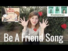 BE A FRIEND Song by Emily Arrow, book by Salina Yoon - songs for kids about books - YouTube