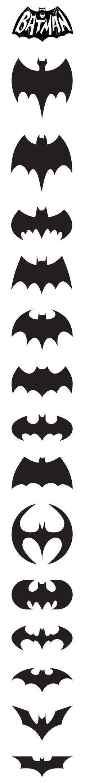 Bat Logos black and white