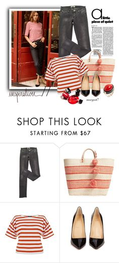"""inspiration 11"" by margo47 ❤ liked on Polyvore featuring AG Adriano Goldschmied, Acne Studios, Mar y Sol, Theory, Christian Louboutin and Chanel"