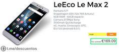 Oferta de smartphone LeTV Le Max2 X829 [Actualizado mayo 2017] - http://ift.tt/2mZOSql